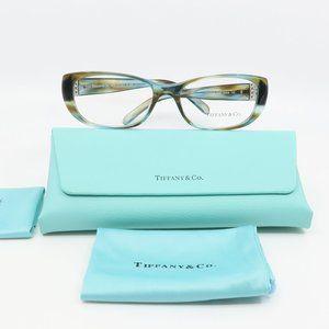 TF 2076-B 8124 Tiffany & Co Blue Tortoise Glasses